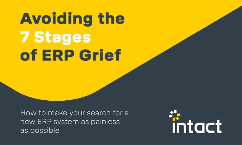 Avoiding the 7 stages of ERP Grief