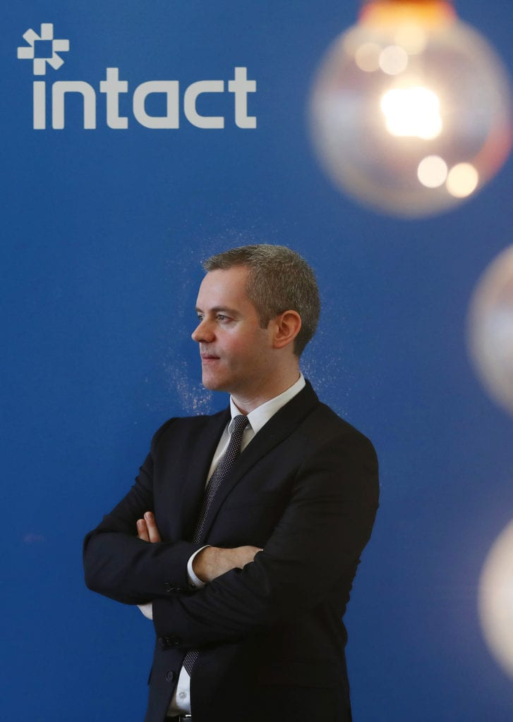 Justin Lawless, Intact CEO