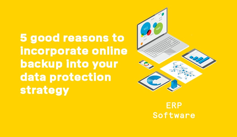 5 good reasons to incorporate online backup into your data protection strategy.