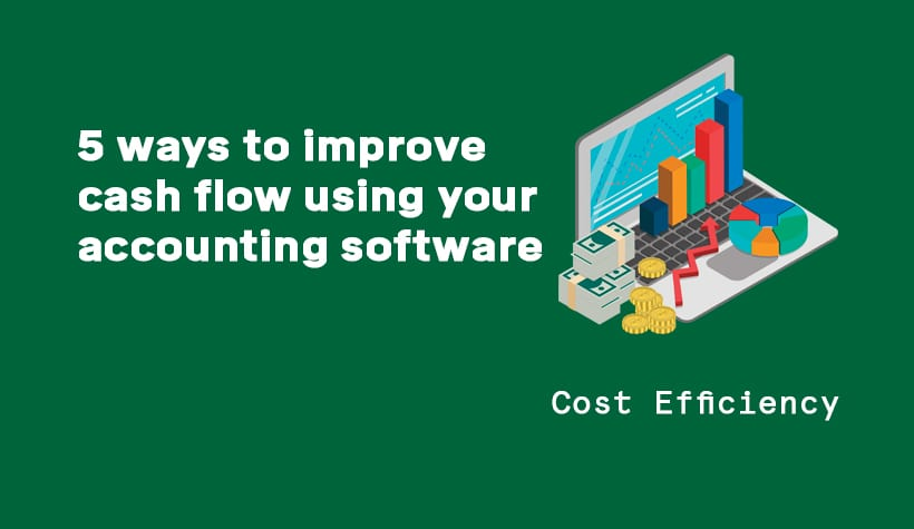 5 ways to improve cash flow using your accounting software